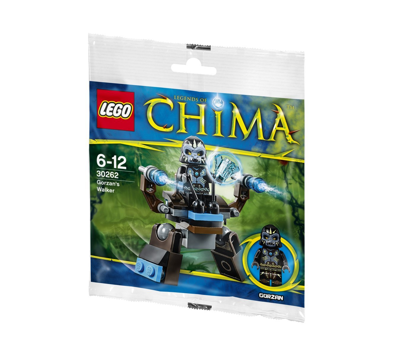 Amazon chima party supplies - Amazon Com Lego Legends Of Chima Gorzan S Walker 30262 Bagged Set Toys Games