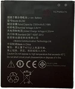 for Lenovo A6000 & Plus Replacement Battery BL242