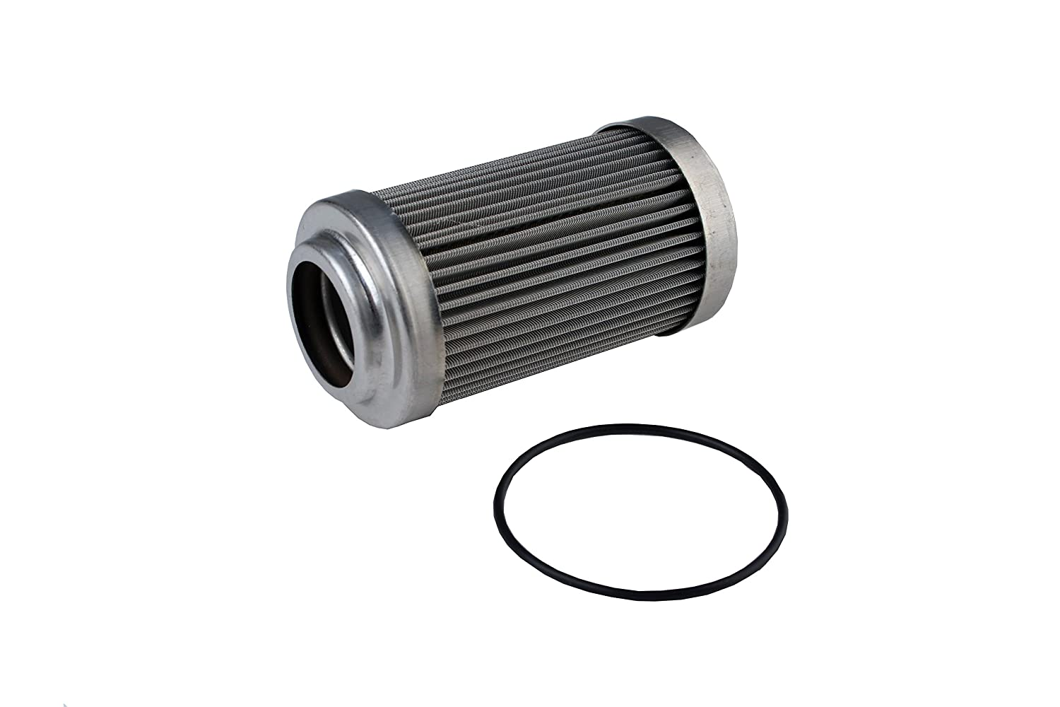 Aeromotive 12635 Replacement Filter Element, 40-Micron Stainless Mesh, Fits All 2 OD Filter Housings
