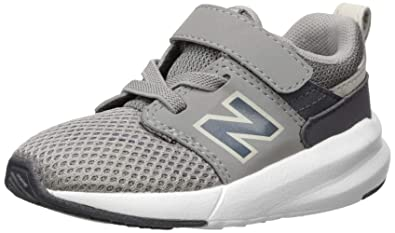 825d4f3e3dbc New Balance Boys' 009 V1 Hook and Loop Sneaker Marblehead/Magnet 2 M US
