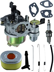 POSEAGLE GX120 Carburetor Tune-Up Kits Replaces16100-ZH7-W51 with 16555-ZE1-000 16561-ZL0-000 16562-ZE1-020 Spring for Honda GX110 GX120 WDP20X WDP30X