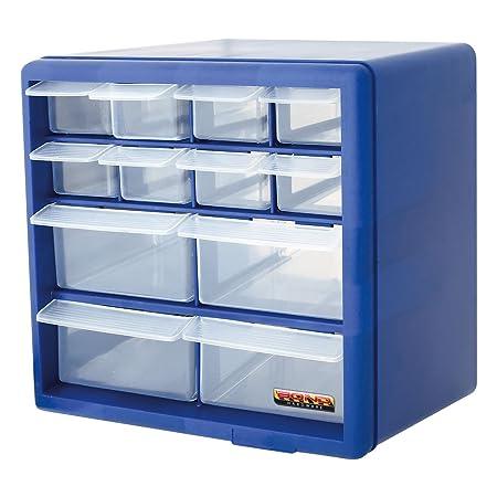 Bond Hardware 12 Drawer Blue Multi Tools Diy Storage Cabinet