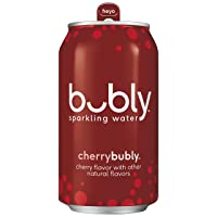 Deals on 18-Pack Bubly Sparkling Water, Cherry, 12 fl oz. Cans