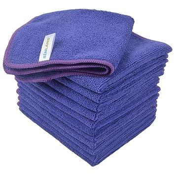 12 toallas microfibra – Color Morado – Violetta – 2018 – muy bella acabado, y