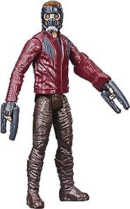 "Marvel Avengers Titan Hero Series Star-Lord 12""-Scale Super Hero Action Figure with Titan Hero Power Fx Port"