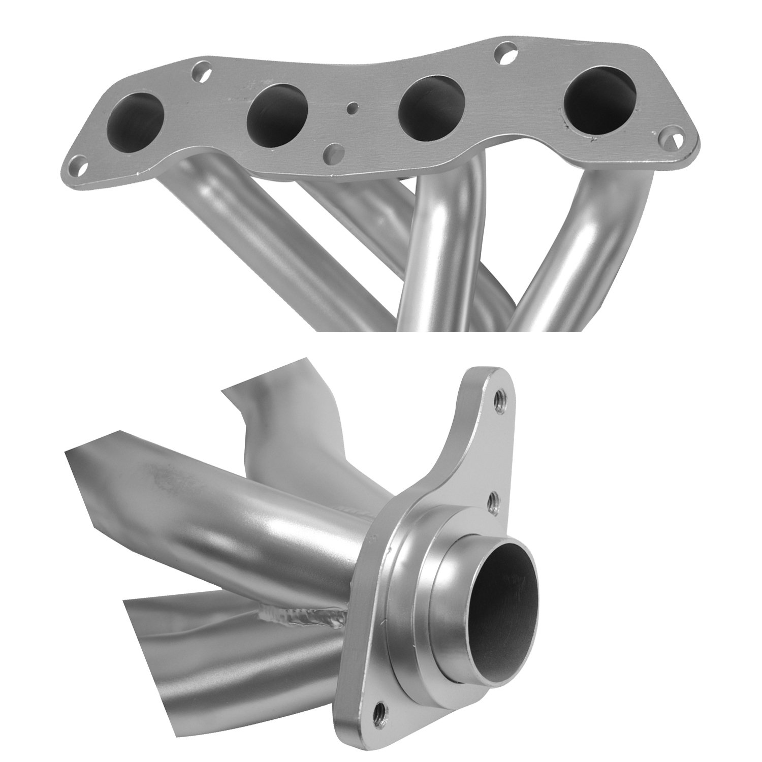 DC Sports HHC5023 Silver 4-1 Header with Ceramic Coating
