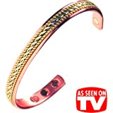 Attractive Copper Magnetic Bracelet for Women - Arthritis Pain Relief Aid