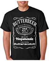 Raw T-Shirt's Vintage Wizard- Old No. 9 3/4 - Wizard Butter Scotch Men's T-Shirt