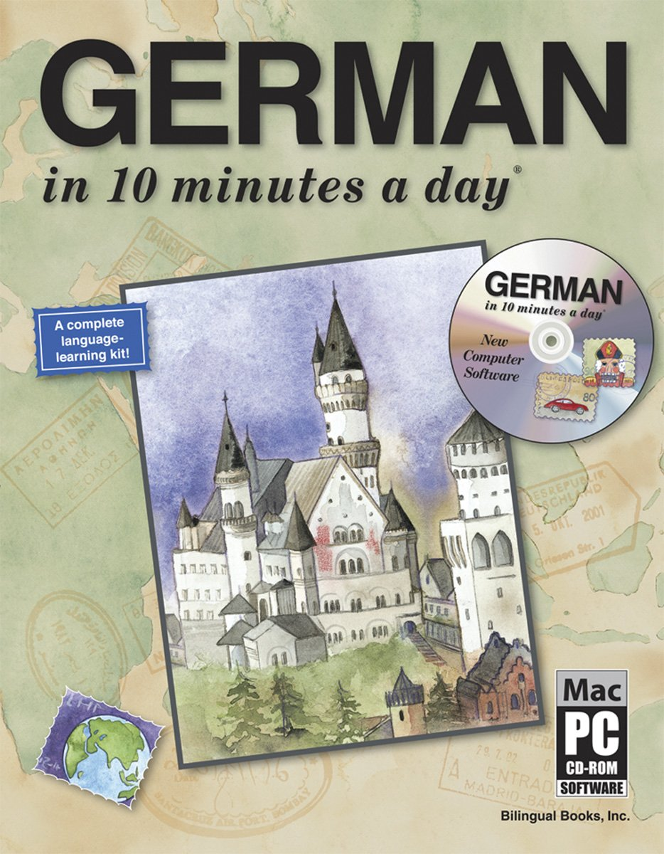 GERMAN in 10 minutes a day® AUDIO CD by Brand: Bilingual Books, Inc. (Image #3)