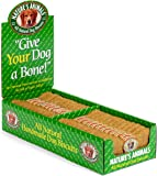 Nature's Animals Original Bakery Biscuits All Natural Dog Treats, Bone Shaped Snacks, 24 Count