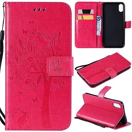 new style 3b265 e8aee Amazon.com: Luckyandery iPhone 9 Plus Case,iPhone 9 Plus Wallet Case ...
