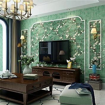 H&M Tapete Retro Nostalgie Landhausstil Blumenmuster 3D ...