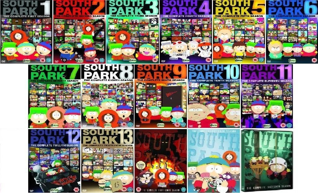 South Park Complete Seasons 1-16 Bundle by Comedy Central