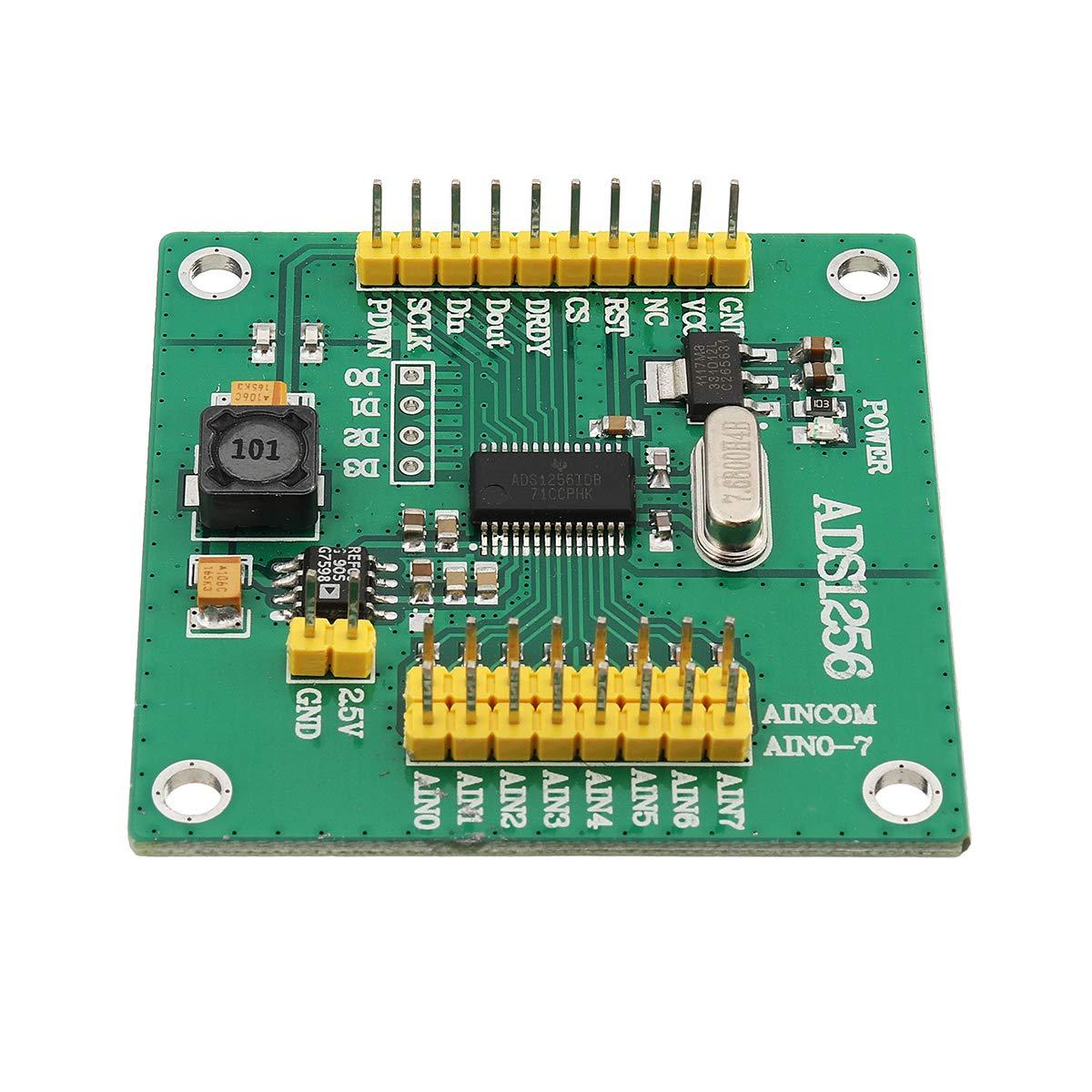 ランフィー 5ピース ADS1256 高精度 ADC モジュール変換24ビット8チャンネル -   B07PSGN76D