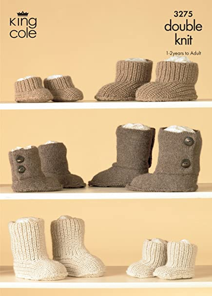 Amazon King Cole Double Knitting Pattern 3275 Knitted Hug