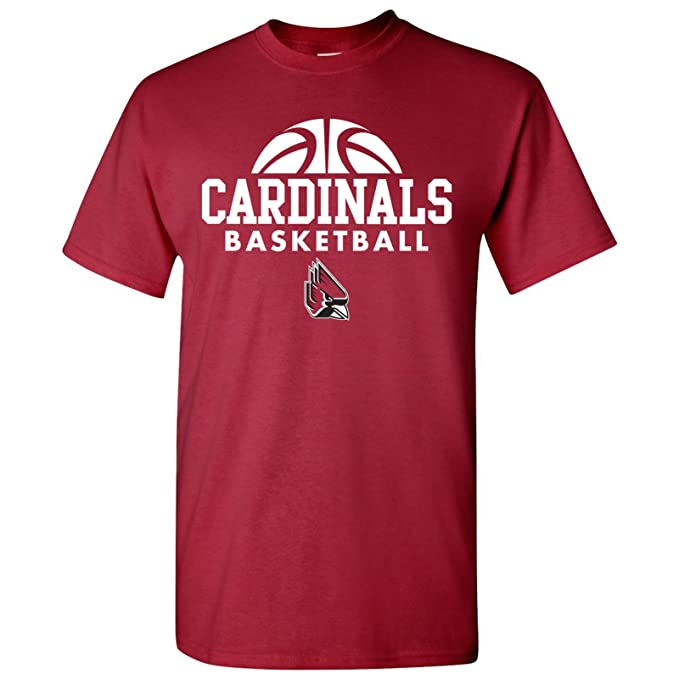 663c8bfbf0e Ball State Cardinals Basketball Hype Mens T-Shirt - Small - Red