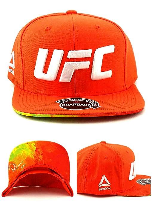 eee817c7 Amazon.com : Reebok UFC New MMA Brittney Palmer Orange White XOXO ...
