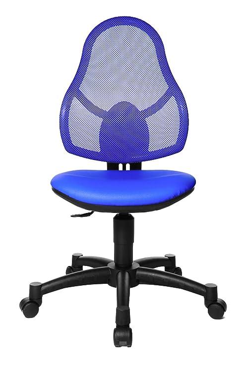 Topstar Open Art Junior, Bürostuhl, Schreibtischstuhl für Kinder und  Jugendliche, Bezugsstoff, royal blau