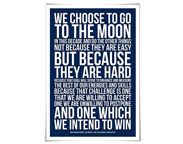 kennedys speech about going to the moon