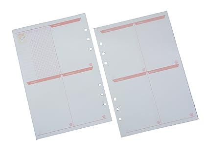 Funcoo 2 juegos de 45 hojas de recambios de papel para ...