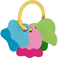 green sprouts Teething Keys Set for 3 Months Plus Babies,Multicolor