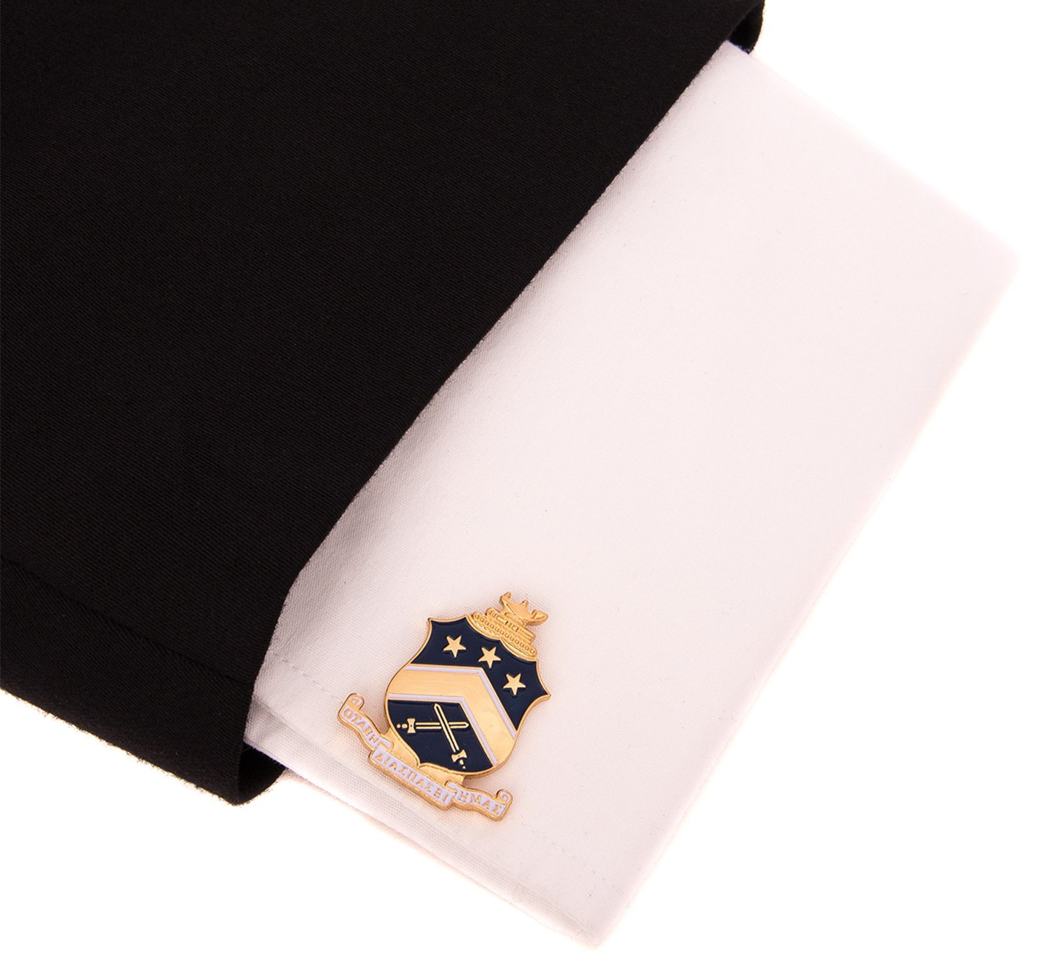 Desert Cactus Pi Kappa Phi Fraternity Crest Cufflinks Greek Formal Wear Blazer Jacket Pi Kapp by Desert Cactus (Image #3)