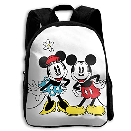 b608c7d95015 Image Unavailable. Image not available for. Color  CHLING Kids Backpack  Mickey and Minnie Mouse Print Childrens School Bag Teenager Bookbag for  Boys Girls