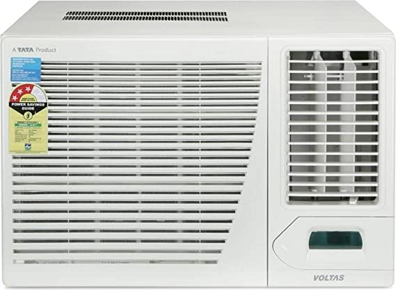Voltas 1.5 Ton 3 Star Window AC  Copper 183CYA/183 CZP White