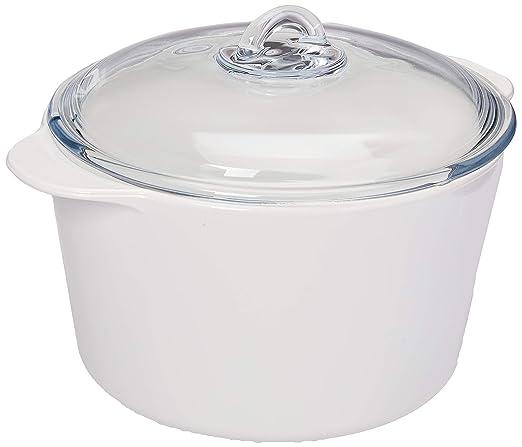 Creatable Vitro Color Blanco - Olla con tapa (5,0 litros ...