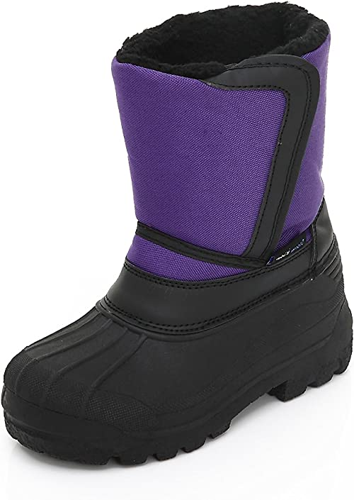 Unisex Kids Winter Snow Boots