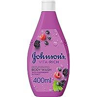 JOHNSON'S, Body Wash, Vita-Rich, Replenishing, 400ml