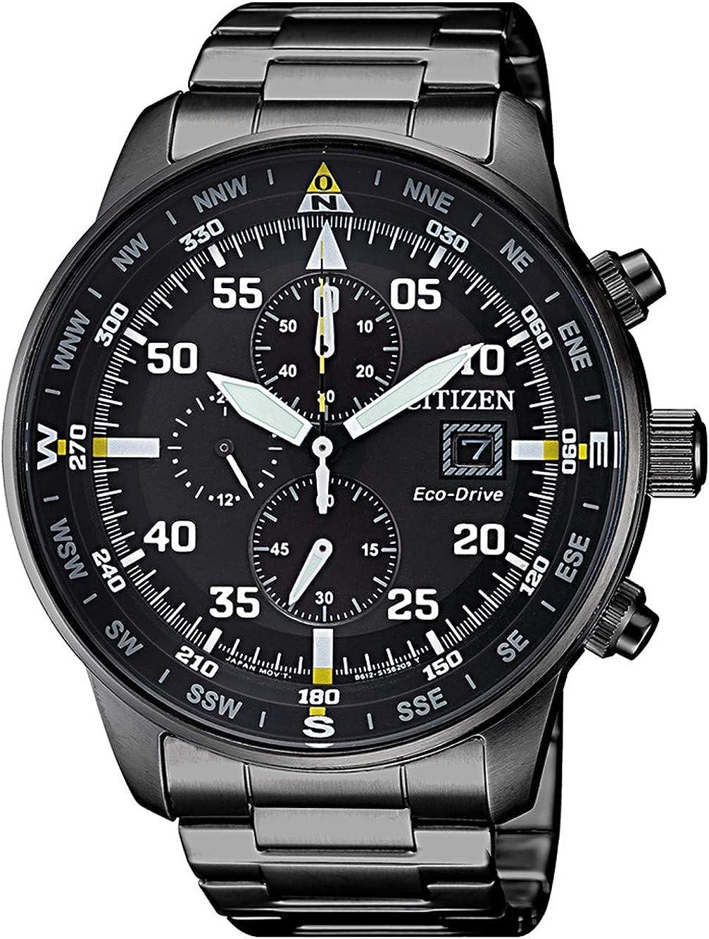 Citizen Collection Aviator CA0695-84E - Reloj de pulsera para hombre
