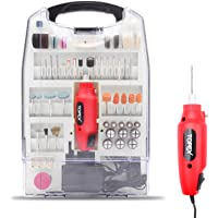 110PCS 12V Mini Grinder Electric Rotary Tool Polishing Drilling Kit Set