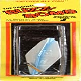 True North Trading 3-Inch BuzzBomb Sonic Lure Extra Heavy, Blue Pearl