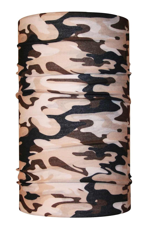 Headloop Multifunctional Scarf Black Skull Neck Tube Scarf Bandana Headscarf Microfibre