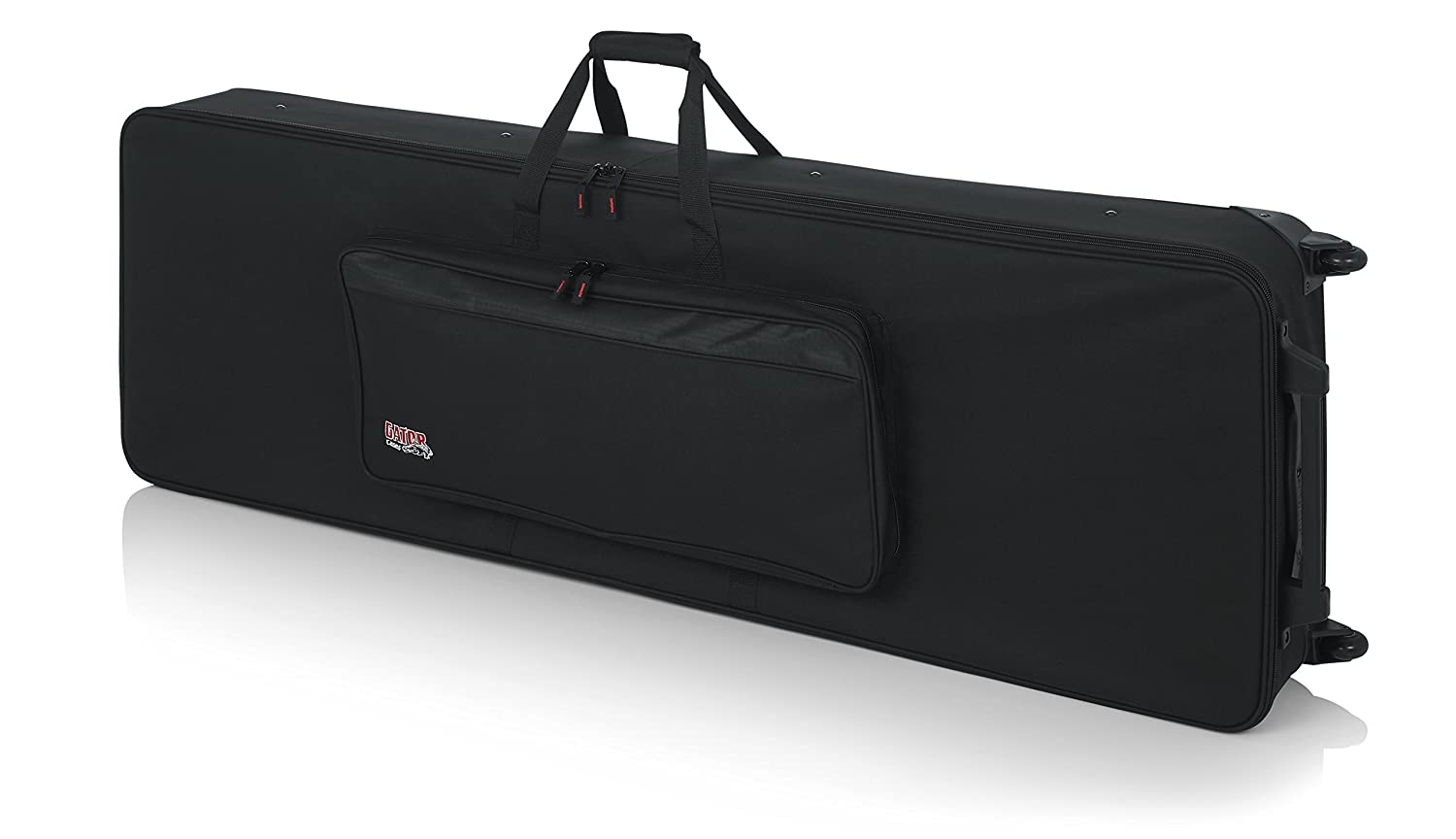 Gator Cases Lightweight Rolling Keyboard Case for 88 Note Keyboards and Electric Pianos (GK-88) GK88