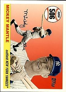 2006 Topps Mantle Home Run History #506 Mickey Mantle MLB Baseball Trading Card