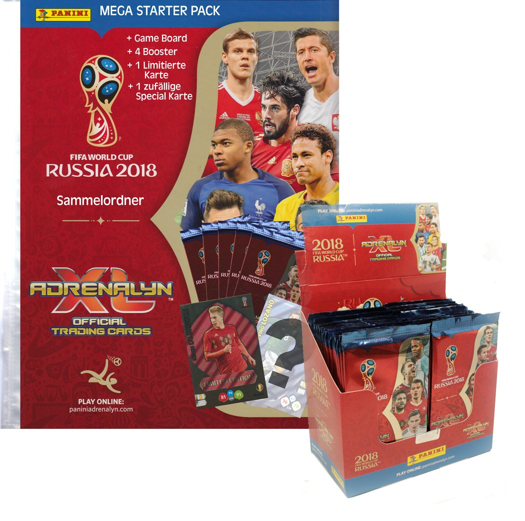 FIFA World Cup Adrenalyn XL 2018 - 1 Display + 1 Starter