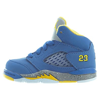 new concept ecffa 38303 Amazon.com | Jordan Retro 5 Laney JSP Toddlers Shoes Varsity ...