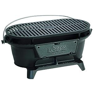 "Jur_Global L410 9"" X 17"" Hibachi Style Charcoal Grill"