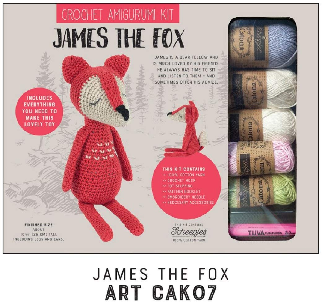 Crochet amigurumi kit Toy kit Cotton Yarn Set Knitting kit -Includes Construction Guide - for Both Beginners and Experienced Crocheters - Model 1 Boris The Bear