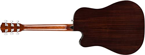 Fender CD-140SCE Acoustic-Electric Guitar With Case - Dreadnaught Body Style - Natural Finish