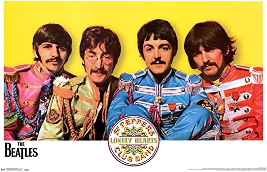 Sgt Pepper Giclee Canvas Album Art The Beatles