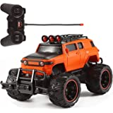 RC Monster Truck Remote Control 1:20 Scale Electric Vehicle Off-Road Race Car With Oversize Tires Radio SUV RTR Beast Buggy G