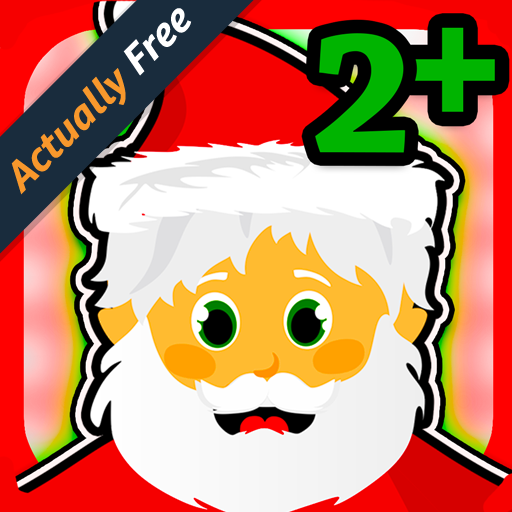 Santa Games for Kids 2+ - Free Educational Learning Fun! Great for Christmas!