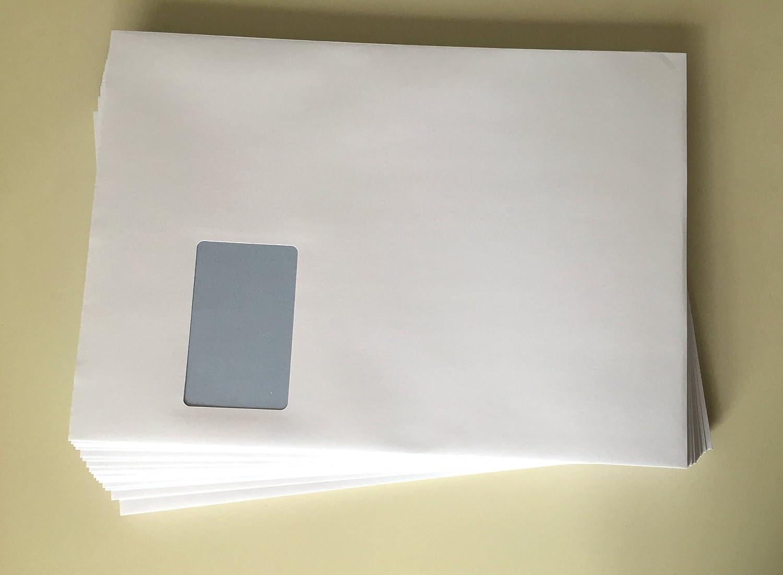 sobres con ventana, C4=324 x 229 mm, para impresora láser ...
