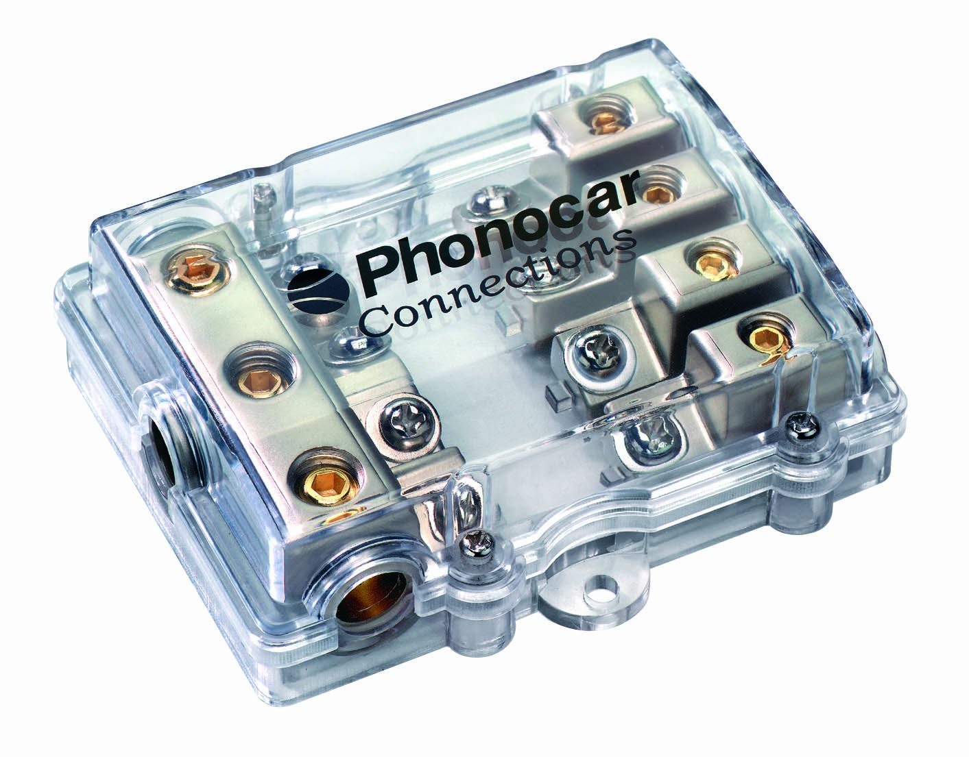 Phonocar 4//499 4-way supporto per fusibile AFC e cavi multi-colore
