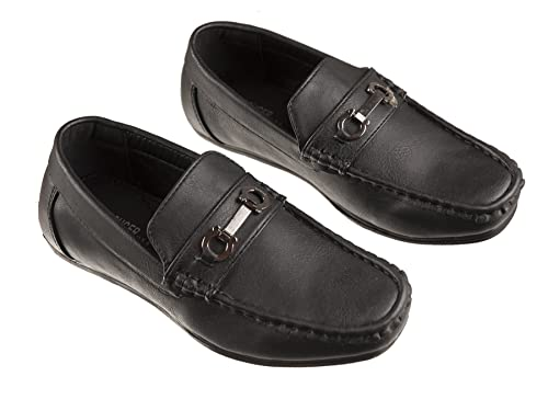 Amazon Fouger Boys Fashion Loafers Slip On Dress Shoes In