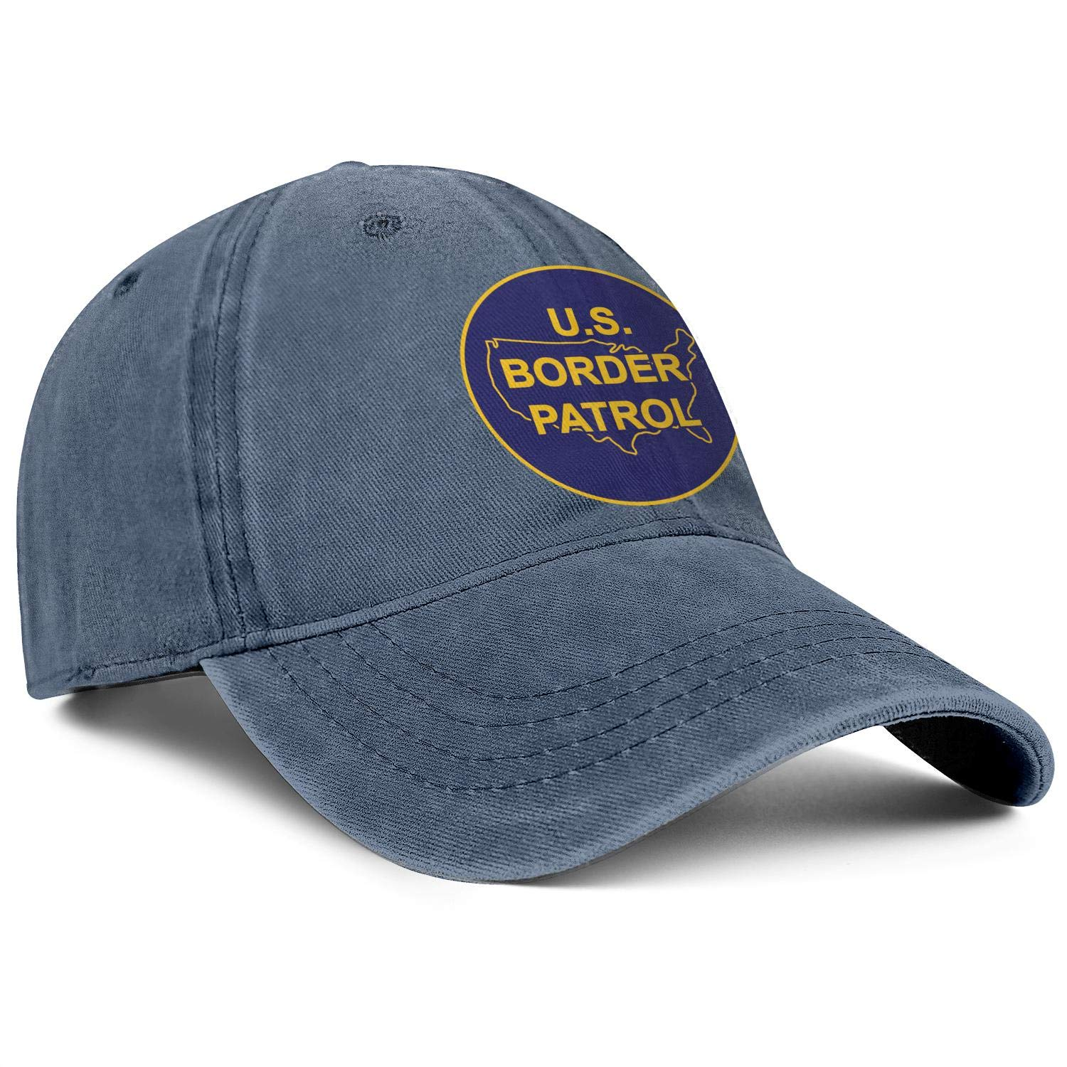 United States Army Medical Command Logos Low Profile Washed Distressed Baseball Caps Smooth Twill Denim Dad-Hats Adult
