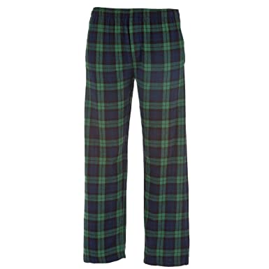 online retailer new varieties exquisite craftsmanship Blackwatch Tartan Plaid Check Classic Cut Flannel Pants